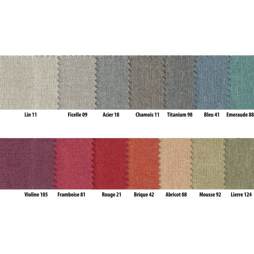 Fireproof blackout fabric NOCHE in 280 cm - Sotexpro