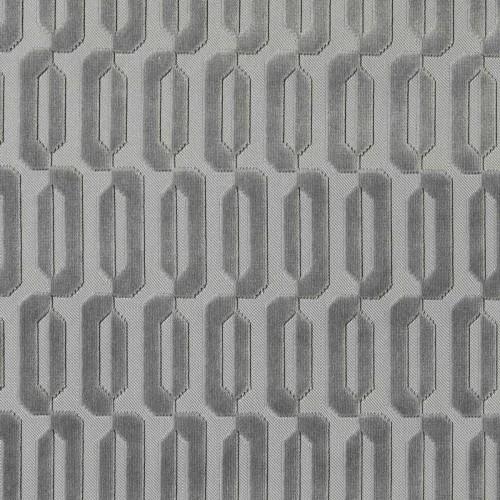 Typo velvet fabric - Lelièvre