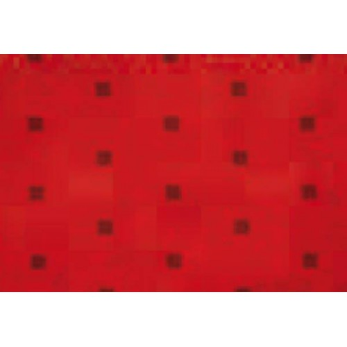 MicroMotion microfiber fabric for bus Doubly model - Red