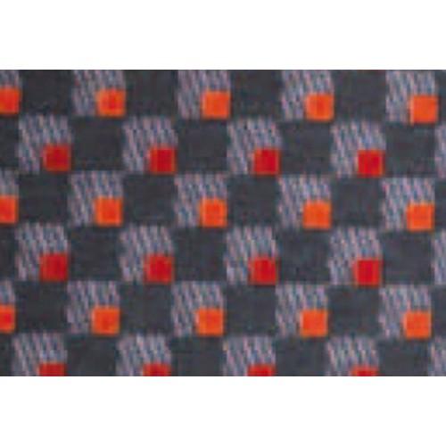 Tissu velours de laine pour bus modèle Damia - Coloris rouge