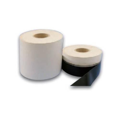 Bande de renfort PVC prédécoupée noire au mètre