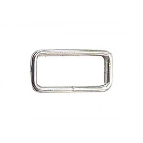 Passant fendu en acier bichromaté - Largeur intérieure 20 mm