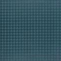 Simili cuir d'ameublement impression géométrique Vintage Style de Englisch Dekor coloris Bleu charron A2797/140