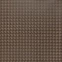 Simili cuir d'ameublement impression géométrique Vintage Style de Englisch Dekor coloris Châtaigne A2800/140