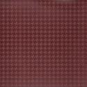 Simili cuir d'ameublement impression géométrique Vintage Style de Englisch Dekor coloris Rouge bourgogne A2796/140