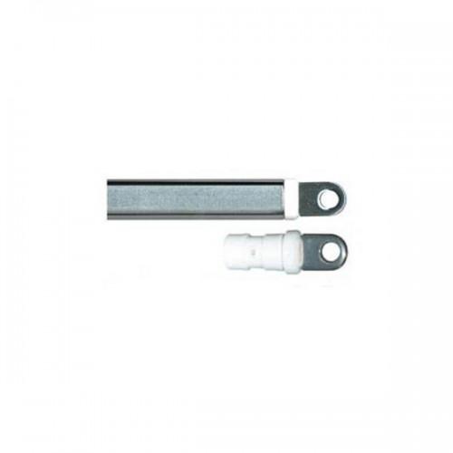 Embout de tube inox et platique diamètre 18 mm x 13 mm