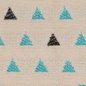 Tissu d'extérieur Agora Trian de Tuvatextil coloris Turquoise 3929