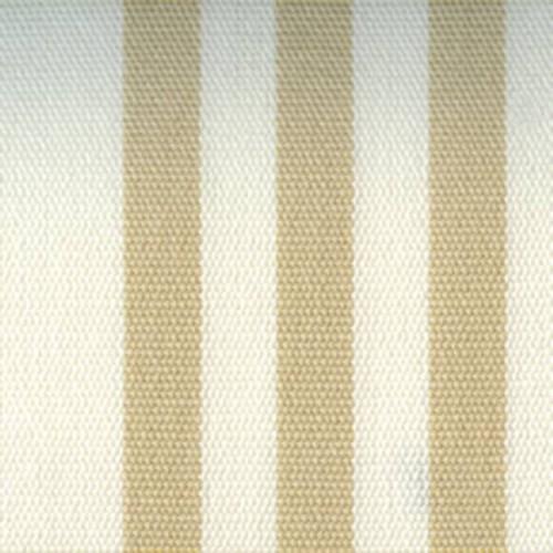 Tissu dralon d'extérieur Acrisol 7 Calles de Tuvatextil coloris Beige/Blanc C-31 7