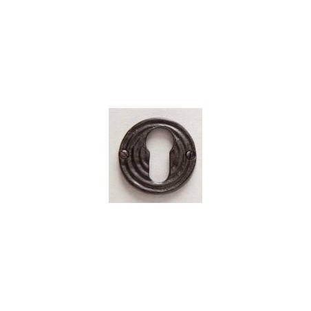 Bronze rose on door handle Empreinte - Lock Y brown bronze