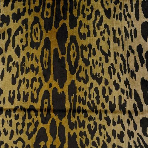 Leopard velevt fabric - Nobilis