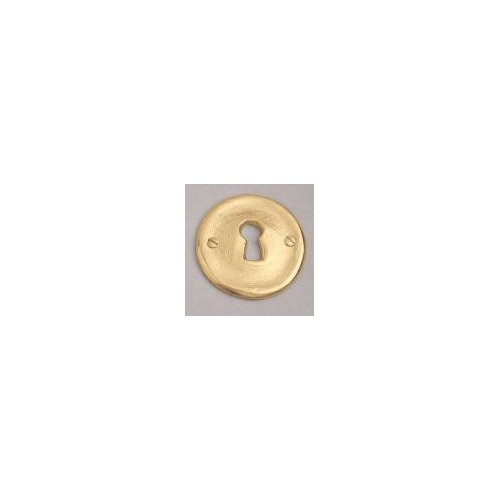 Bronze lock for rose on window handle Acine - Lock L bronze gold