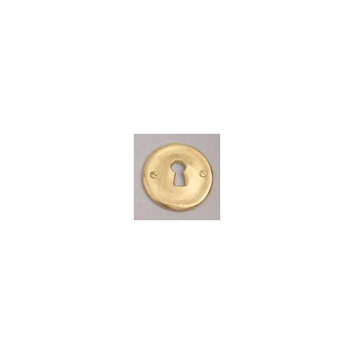 Bronze lock for rose on window handle Fuso - Lock L bronze gold