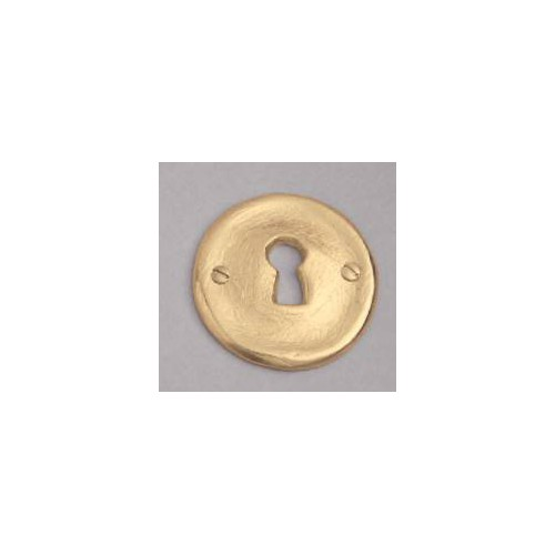 Bronze lock for rose on window handle Plissé - Lock L bronze gold
