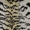 Tiger velevt fabric - Nobilis