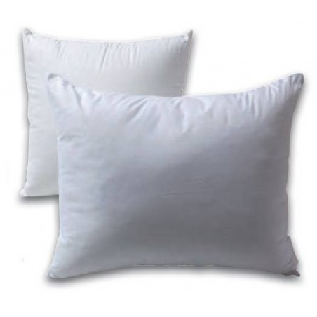 Square or rectangular silicone fiber cushion