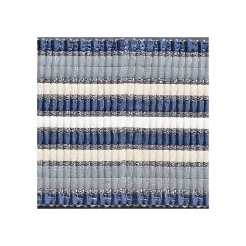 Galon faux cuir collection Façon Cuir de Houlès coloris Bleu 32176-9610