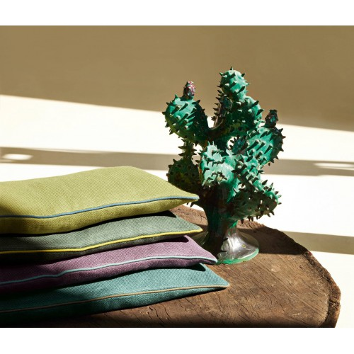 Tissu Gros Lin de Dominique Kieffer coloris Bois 17208-009