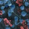 Tissu imprimé Pavot de Chanée Ducrocq Deschemaker coloris Ebene 3109
