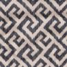 Tissu imprimé Labyrinthe de Chanée Ducrocq Deschemaker coloris Ardoise 3118