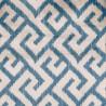 Tissu imprimé Labyrinthe de Chanée Ducrocq Deschemaker coloris Beryl 3117