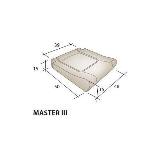 Mousse d'assise siège RENAULT Master 3