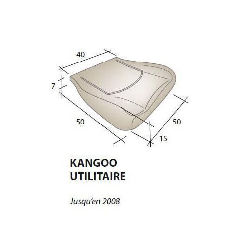 Assise mousse siège RENAULT Kangoo utilitaire