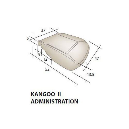 Assise mousse siège RENAULT Kangoo 2 Administration