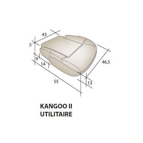 Assise mousse siège RENAULT Kangoo 2 utilitaire