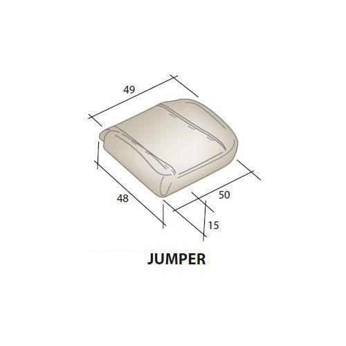 Assise mousse siège CITROEN Jumper
