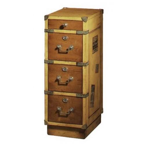 Meuble de Voyages 4 tiroirs - Félix Monge