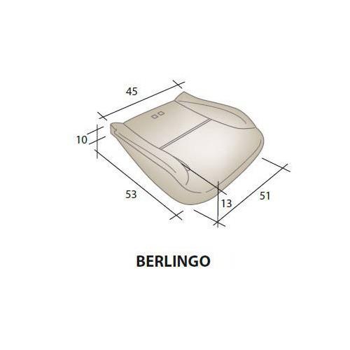 Mousse d'assise siège CITROEN Berlingo