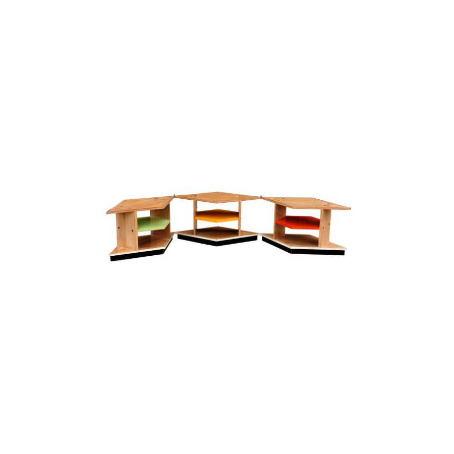 Table basse Bandonéon - Félix Monge