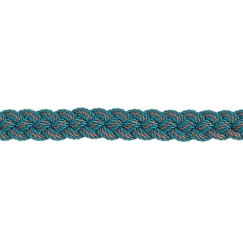 Lézarde 10 mm Palladio de Houlès coloris Aquamarine 31053-9660