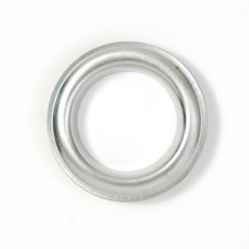 Brushed Inox Eyelets 22mm for curtains from Houlès reference 58376