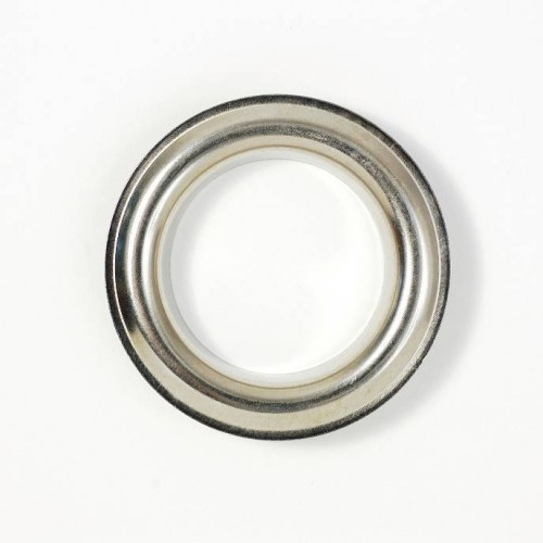 Nickel Brass Eyelets 40mm for curtains from Houlès reference 58311