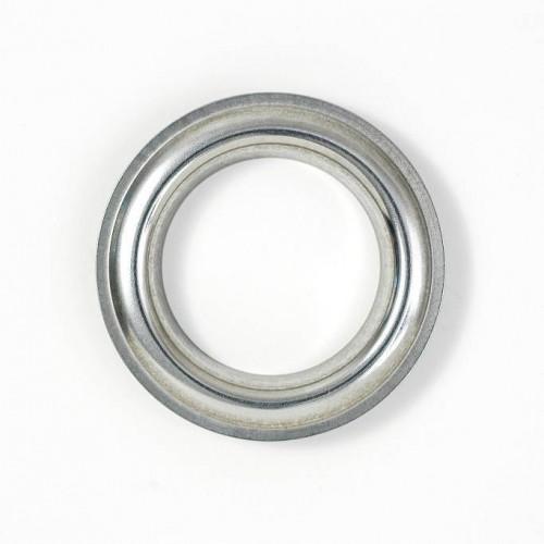 Œillets décoratif pour rideaux Inox Poli 40 mm de Houlès référence 58371