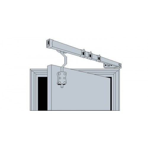 Drapery Crane With Crank for Door Frame Kit - Bocama Houlès