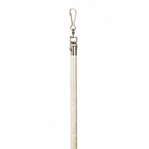 Lance-rideau Iliade longueur 100 cm de Houlès coloris Blanc patiné 60125-44
