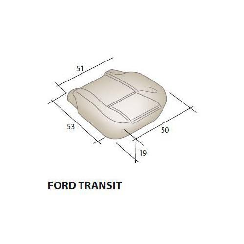 Mousse d'assise siège FORD Transit
