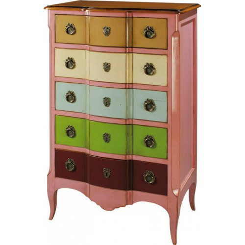 Chiffonier 5 drawers Marie Antoinette - Labarère