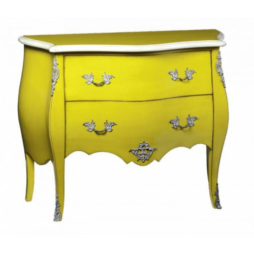 Chest Curved 2 drawers Marie Antoinette - Labarère