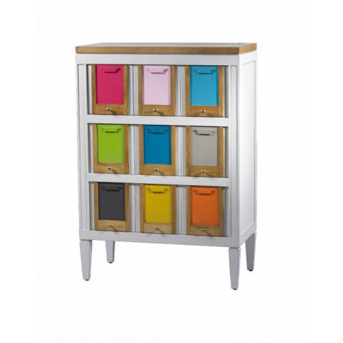 Chest 5 drawers Les Coloristes - Labarère