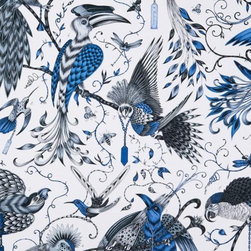 Tissu Audubon de Clarke & Clarke coloris Blue F1108-01