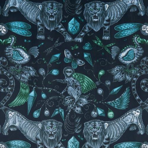 Disparue velvet fabric - Clarke & Clarke