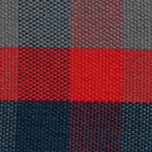 Plaid fabric for Renault 4L