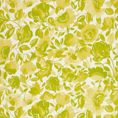 Tissu Caitlin Linen de Clarke & Clarke coloris Agrume F0817-02