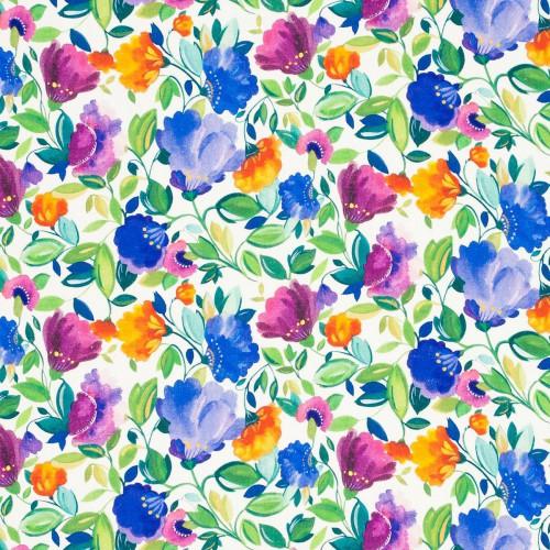Tissu Giselle Linen de Clarke & Clarke coloris Giselle Linge F0819-01