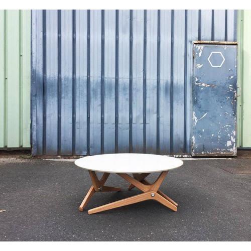 Table relevable Archimède - Boulon Blanc