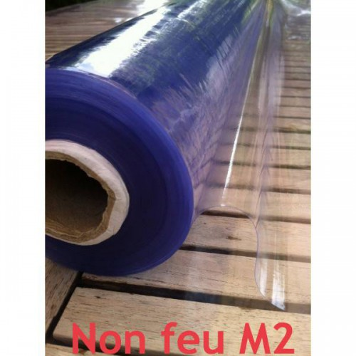 Plastique cristal souple transparent 30/100