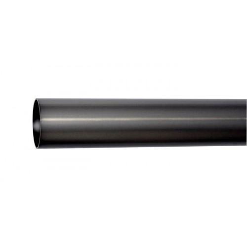 Tube pour tringle Médicis diamètre 35mm de Houlès 180 cm coloris Argent vieilli 64001-67